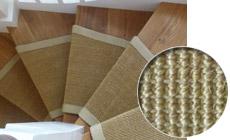 Sisal Dark Honey Stair Rug